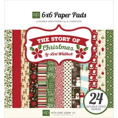 Echo Park The Story Of Christmas - Paper Pad 6x6inch