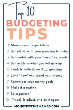 Knowing the best budgeting tips can dramatically speed up your time in reaching your money goals! This second post, in … Ways To Save Money, Money Tips, Money Saving Tips, Money Hacks, Budgeting Finances, Budgeting Tips, Learning Pyramid, Planning Budget, Financial Success