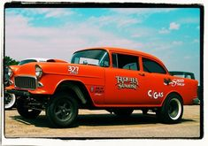 Click for the best vintage cars, hot rods, and kustoms 1955 Chevy, 1955 Chevrolet, Classic Chevy Trucks, Classic Cars, Vintage Cars, Antique Cars, Car Man Cave, Us Cars, Drag Cars