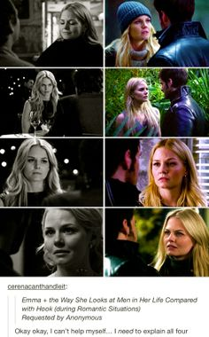 OUAT. Comparing Killian with the other men in Emma's life. Killian is cuter and truer!!!! CS forever!!!!!