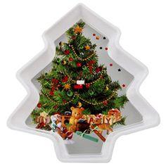Juletræ Formet Fad - Single