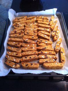 Biscotti, sprøde julesmåkager