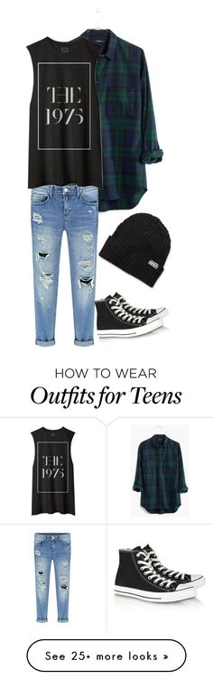 love me by oliviaogstad on Polyvore featuring Madewell, Converse, womens clothing, women, female, woman, misses and juniors