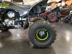 New 2017 Yamaha YFZ450R SE ATVs For Sale in Arizona. 2017 Yamaha YFZ450R SE, 2017 Yamaha YFZ450R SE SENSATIONALLY SINISTER <p> The pure sport YFZ450R SE is both understated and flashy with a bold, impressive color and graphics package.</p> Features may include: <ul> <li> Race-Ready Engine</li></ul><p> The YFZ450R SE is the most technologically advanced sport ATV on the market today. It combines a high-tech, quick-revving, titanium-valved, 449cc fuel-injected engine with a lightweight…