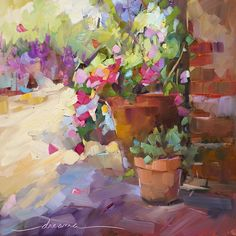 """""""Quiet Color SOLD"""" original fine art by Dreama Tolle Perry Paintings I Love, Beautiful Paintings, Original Paintings, Original Artwork, Impressionist Art, Art Floral, Fine Art Gallery, Pictures To Paint, Flower Art"""