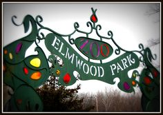 Elmwood Park Zoo Gate