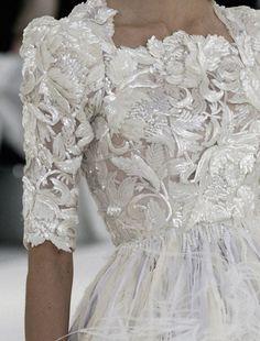 Chanel Haute Couture.