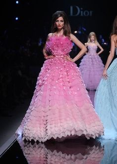 Dior Pink Gown