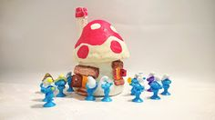 Pomysły plastyczne dla każdego, DiY - Joanna Wajdenfeld: Domek z glinki muchomorek