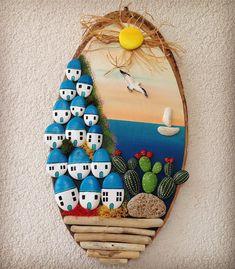 Pin on Boyalı kayalar Stone Crafts, Rock Crafts, Diy And Crafts, Arts And Crafts, Paper Crafts, Diy Wall Art, Diy Art, Wall Art Decor, Rock Painting Patterns