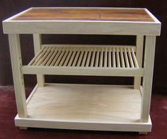 Flat Screen Tv Stand Hardwood Custom Built