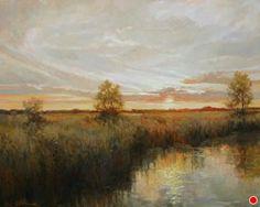 """""""Dawnlight"""" by Sandy Nelson Oil ~ 24"""" x 30"""""""