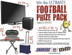 Win the Ultimate Football Prize Pack