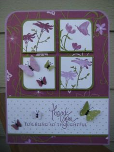 Butterfly Cottage by dbarry - Cards and Paper Crafts at Splitcoaststampers