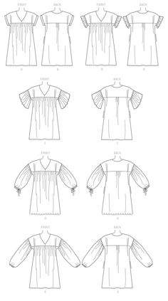Sewing patterns for fashion clothing, crafts and home decorating. Dress sewing patterns, evening and prom sewing patterns, bridal sewing patterns, plus costume and cosplay sewing patterns. Sewing Blogs, Sewing Hacks, Sewing Tips, Sewing Tutorials, Sewing Ideas, Shirt Makeover, Blog Couture, Mccalls Sewing Patterns, Pdf Patterns