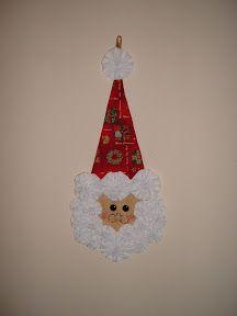 Mi rinconcito de labores: Papa noel técnica yoyo Christmas Ornaments, Holiday Decor, Dressmaking, Papa Noel, Christmas Jewelry, Christmas Decorations, Christmas Decor
