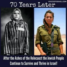 Survivors didn't wait for someone else to take care of them. They returned to their ancient biblical homeland and build a nation!