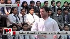 "Congress Vice President Rahul Gandhi, who is on a two-day visit to Assam, interacted with students from North East on Tuesday at Don Bosco University in Guwahati. ""You are students and should have answers to some questions. Why do you think India is not producing efficient jobs for youngsters?"" Rahul Gandhi asked to one of the student. ""We are a huge country so we don't realize how well we are doing. But today we are doing 2nd fastest country in the world."" Rahul Gandhi said."
