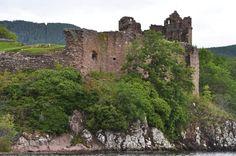 Scottish ruins.