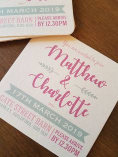 Invite your guests with a beer mat Gate Street Barn, Beer Mats, Facebook Sign Up, Christening, Invite, Wedding Invitations, Wedding Invitation Cards, Wedding Invitation, Wedding Announcements