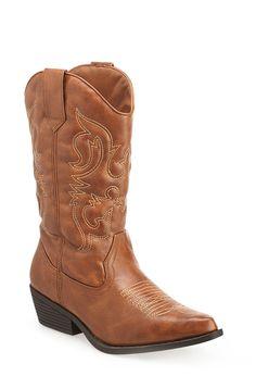 Plus Size Rina Cowboy Boot | Plus Size Boots | Avenue