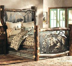 Timber type bed