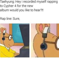 I love these cypher pt 4 memes Arthur will never leave us #arthurthen#arthurnow#imiss#arthur#my#childhood#cypherpt4#taehyung#yoongi#jhope#namjoon#bangtanboys#bts❤