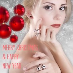 Sarah Hughes Fine Gems would like to wish you all a Merry Christmas and Happy New Year! Hope you all are enjoying this festive day with family and friends. #wis