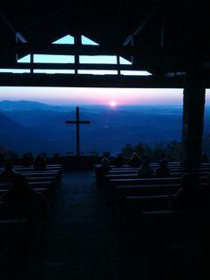 Sunrise at Pretty Place 2013