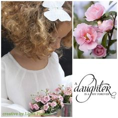 A daughter is a joy forever!