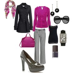 Get to Work!, created by errica-d on Polyvore