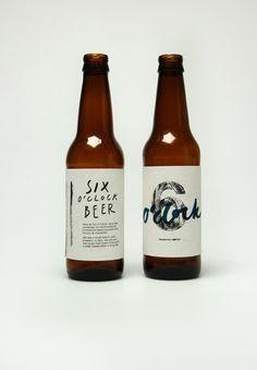 Six O'Clock Beer Co. Branding by Teresa Sweeney