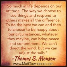 """ADJUST YOUR SAILS FOR THE WIND. A quote for my talk on """"Silver linings, or looking for the light."""""""