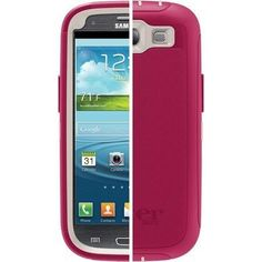 Otterbox Defender Series Case for the Samsung Galaxy S III - Blush (Stone Grey Peony Pink) - All carriers - Includes Belt Clip Holster Ship From Hong Kong by International Air Mail, will take weeks for delivery, Please be patient! Galaxy Phone Cases, Cool Phone Cases, Samsung Galaxy S3, Latest Cell Phones, Best Cell Phone, Phone Accesories, Cell Phone Accessories, Mobile Cases, Galaxies