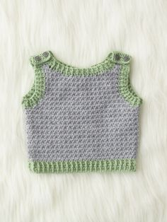 Elfin Hat and Vest   Yarn   Free Knitting Patterns   Crochet Patterns   Yarnspirations