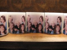 Unique and personalized gift idea - photo embedded luminaries - designbycandlelightaz@gmail.com #candles