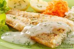 Receita de Filé de pescada com iogurte em receitas de microondas, veja essa e outras receitas aqui!