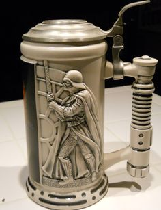 Drink beer like a true Star Wars fan with this EPIC beer stein! #starwars #beer
