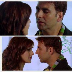 Akshay kumar sir nd Kat #NamasteyLondon Love this movie
