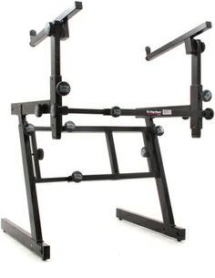 On-Stage Stands KS7365-EJ Pro Heavy-Duty Folding-Z Stand with 2nd Tier