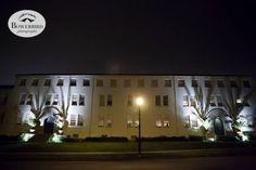 Street Lamp / night Time/ Lit Up / SF Film Centre
