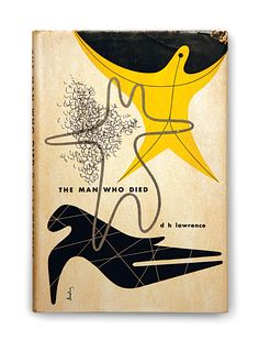 D.H. Lawrence, THE MAN WHO DIED (cover: Alvin Lustig)