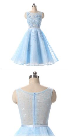 Charming Prom Dress,Elegant Prom Dress,Light Blue Tulle Prom Dress,Short Homecoming Dress,Prom on Storenvy Lace Homecoming Dresses, Elegant Prom Dresses, Tulle Prom Dress, Grad Dresses, Dance Dresses, Pretty Dresses, Beautiful Dresses, Short Dresses, Dress Long