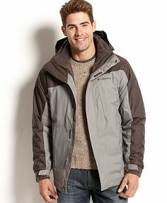 Columbia Eager Air II Three-in-One Interchange Hooded Jacket