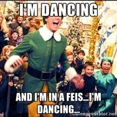 If Buddy the Elf were an Irish dancer...he already has the hair...