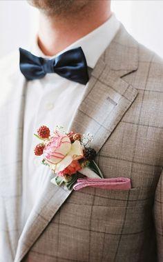 Preppy & chic - bow tie love #groom #groomsmen