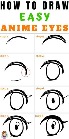 art girl If you want to know how to draw anime eyes then you will love this easy anime eyes tutorial! Anime art tutorials can be really hard to but youll find this an easy manga tutorial that will help you to draw better Easy Anime Eyes, How To Draw Anime Eyes, Simple Anime, Manga Eyes, Draw Eyes, Anime Eyes Drawing, Girl Eyes Drawing, Eye Drawing Tutorials, Drawing Techniques