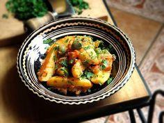 """Szellem a fazékban: Mediterrán """"paprikás krumpli"""""""