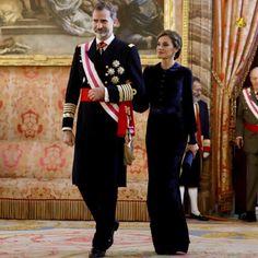 King Felipe, Queen Letizia,