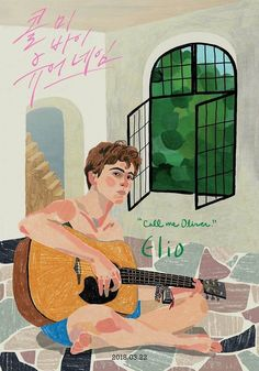 Call Me By Your Name   Illustration from a fan